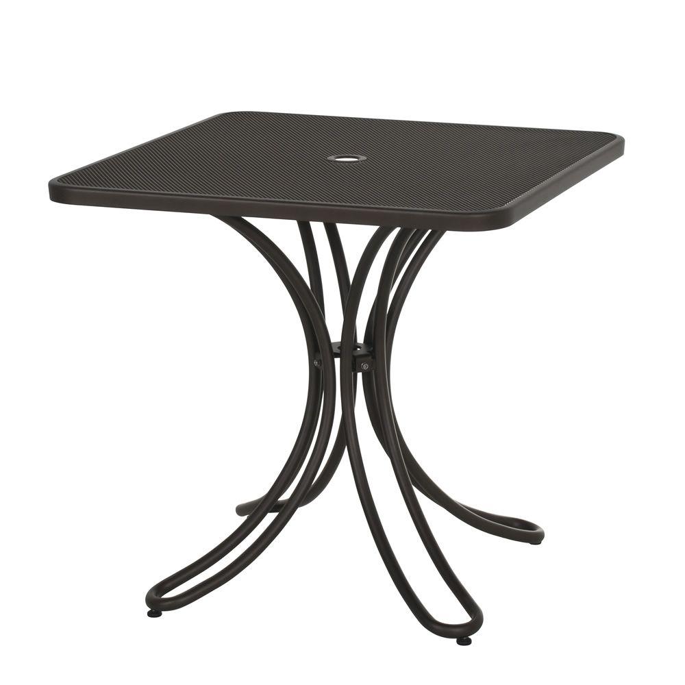 Florence 881 table emu en m tal pour jardin plan de - La table de florence seignosse ...