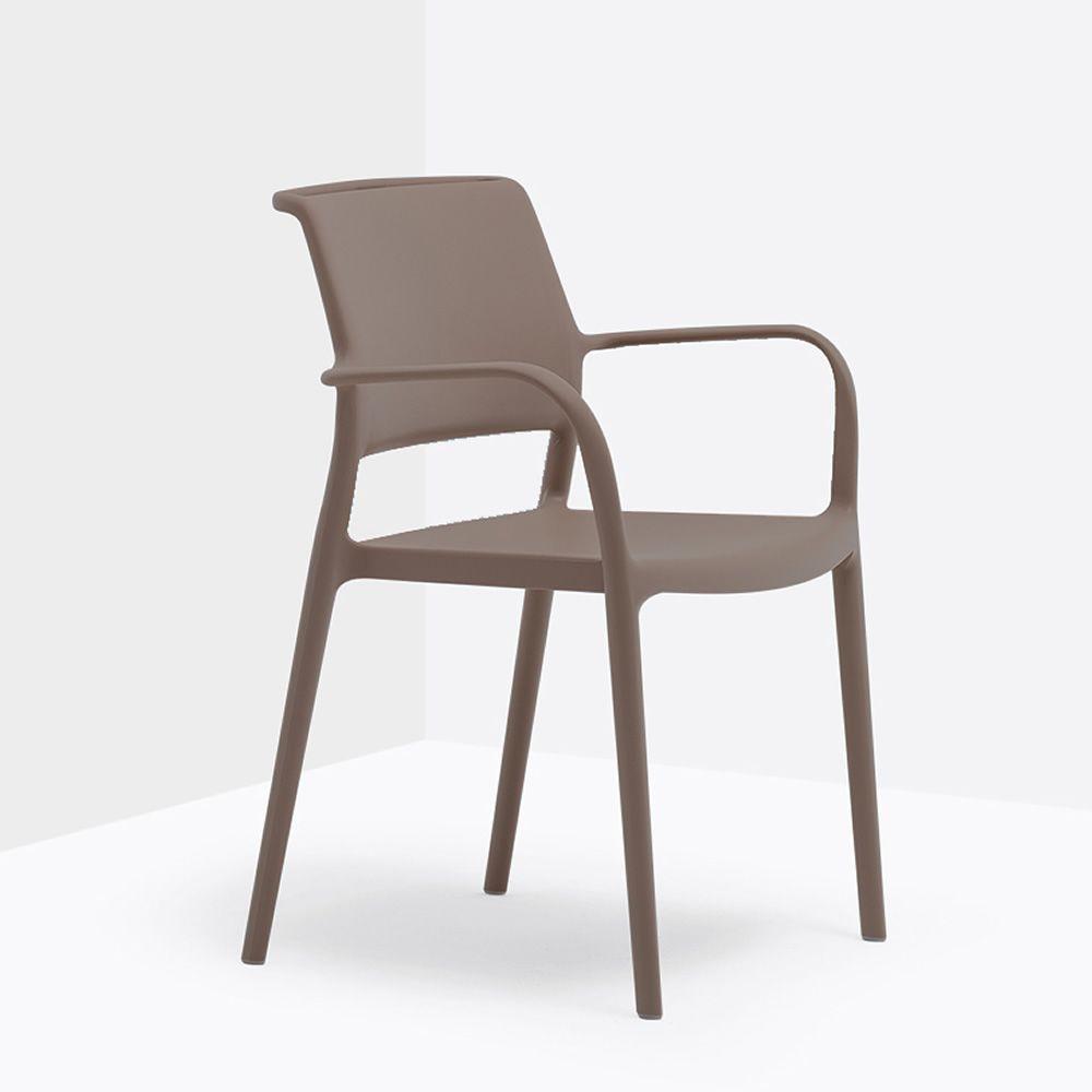 ara 315 stapelbarer sessel pedrali aus polypropylen auch. Black Bedroom Furniture Sets. Home Design Ideas
