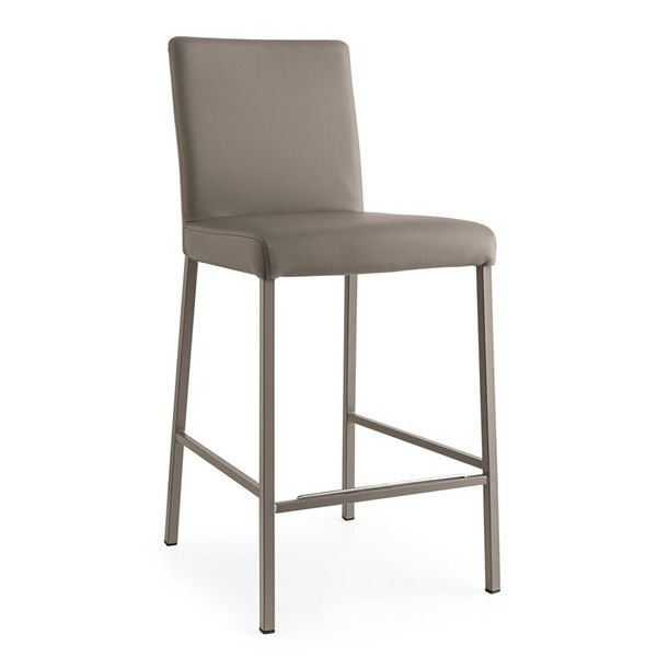cb1688 garda f r bars und restaurants barhocker aus metall mit bezug aus kunstleder sitzh he. Black Bedroom Furniture Sets. Home Design Ideas
