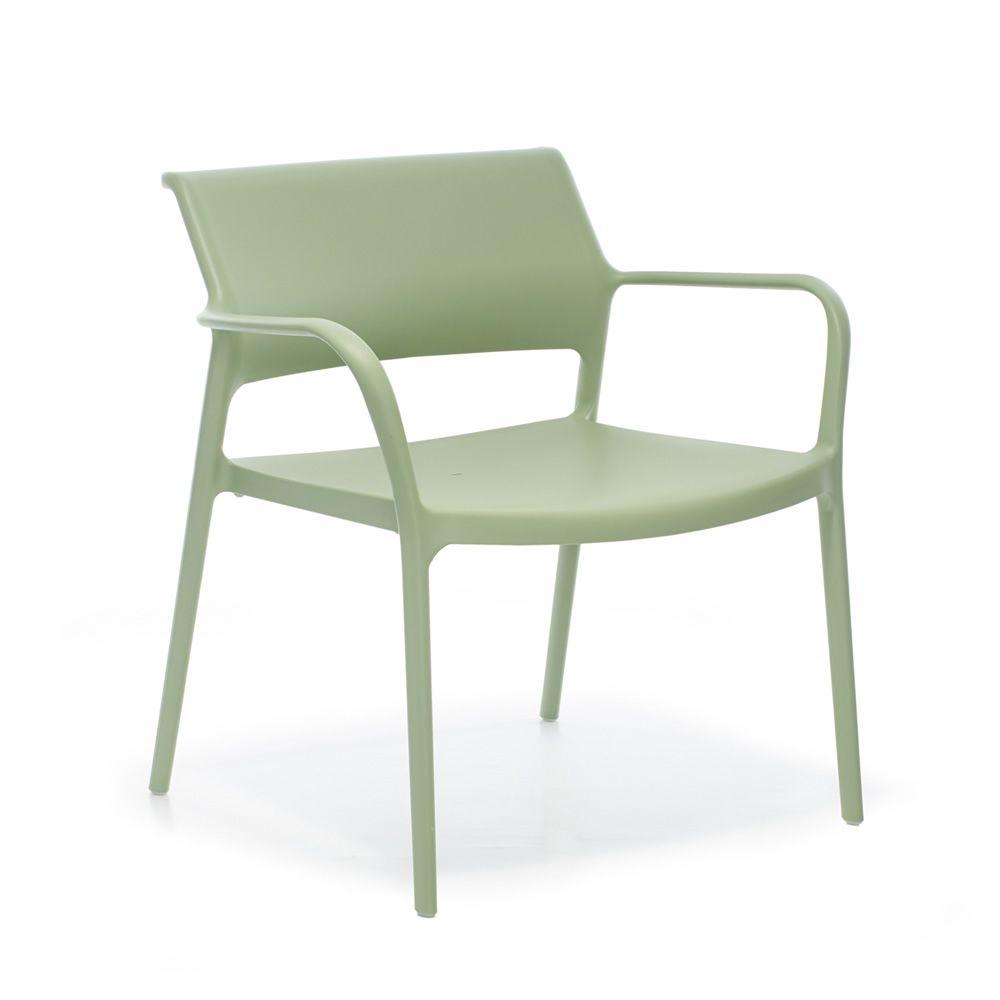 ara lounge fauteuil lounge pedrali en polypropyl ne empilable aussi pour jardin sediarreda. Black Bedroom Furniture Sets. Home Design Ideas