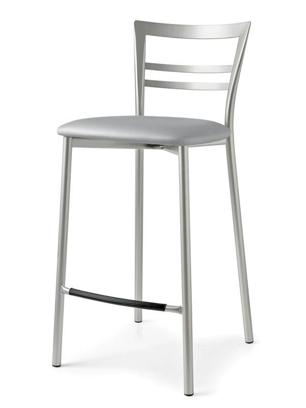 Sitzhöhe Kücheninsel ~ cb1513 go! metallhocker connubia calligaris, verschiedene sitzflächen erhältlich, sitzhöhe 65
