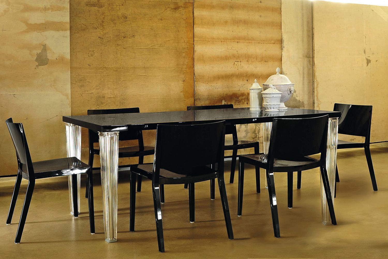 Tavoli Da Pranzo Kartell.Toptop Table Tavolo Kartell Di Design In Metacrilato Con Piano