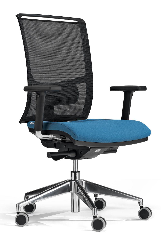 Zed high sedia operativa per ufficio certificata con for Sgabelli da ufficio regolabili