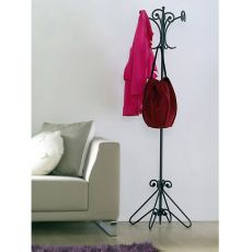 Giro - Coat stand made of wrought-iron, available in several colours