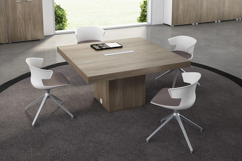 T-Desk Meet - Tavolo da riunione, in laminato, disponibile in ...