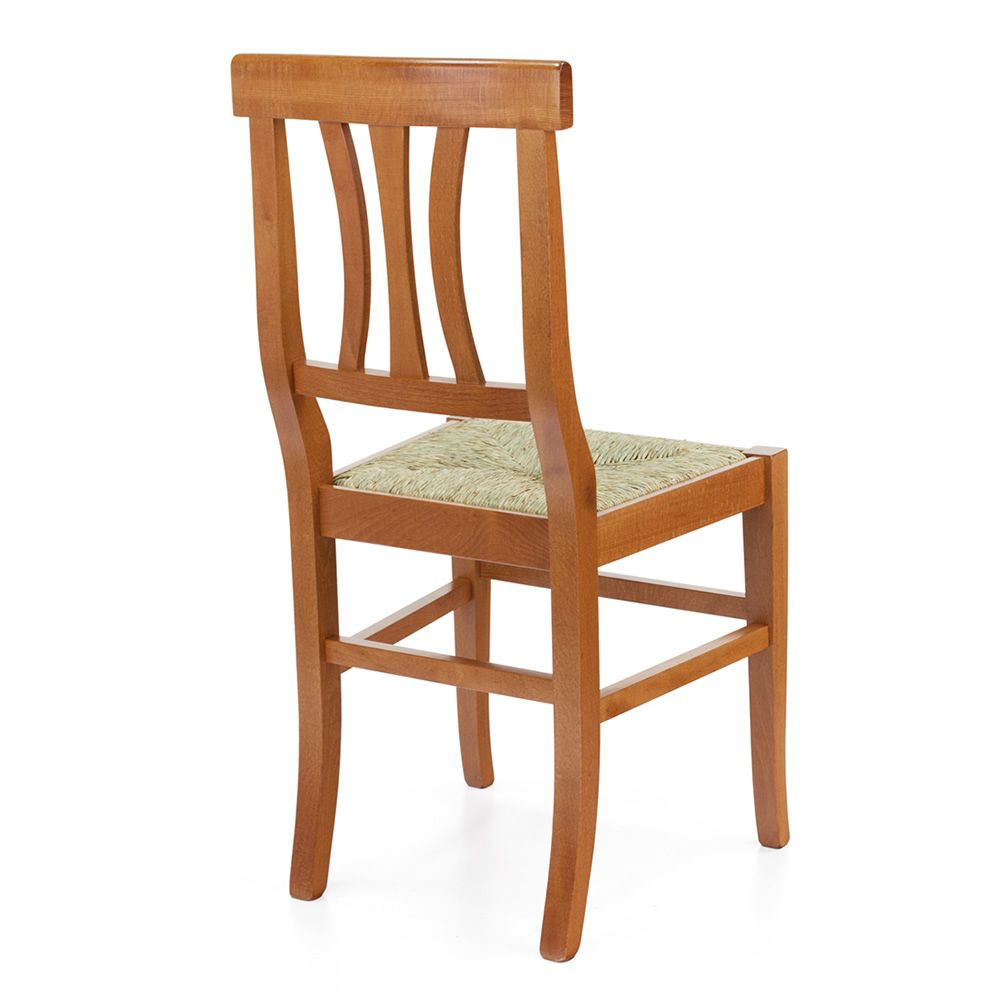 Mu81 country style chair in wood different colors for Different color chairs
