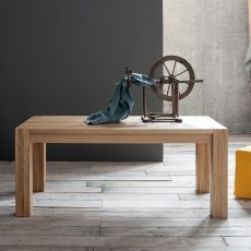 Arista - Moderner Holztisch, verlängerbar, in verschiedenen Größen verfügbar