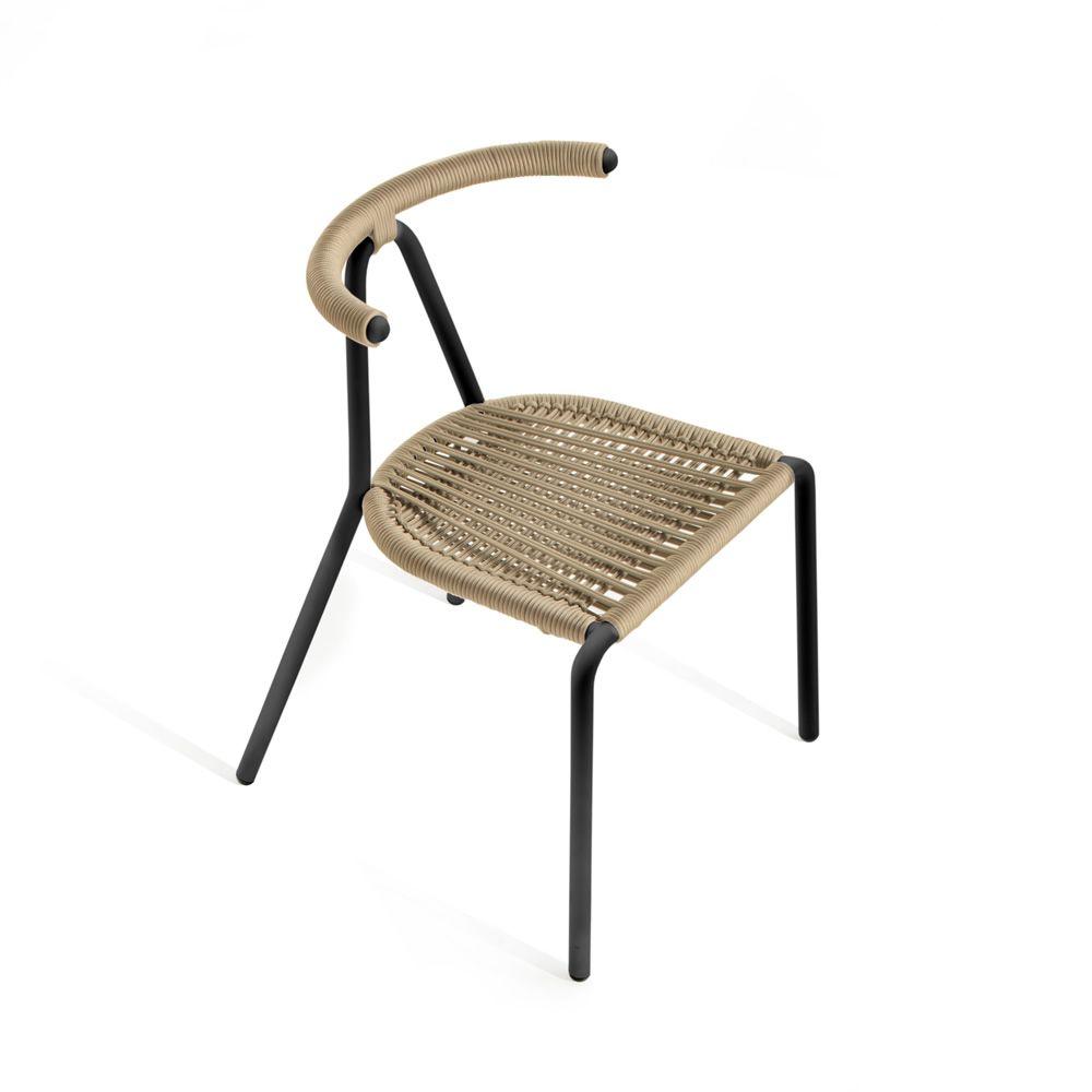 Toro outdoor b line stuhl aus metall sitzfl che aus - Outdoor stuhle stapelbar ...