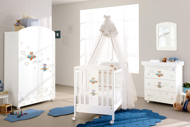 fan lit b b pali en bois avec tiroir sommier lattes r glable en hauteur sediarreda. Black Bedroom Furniture Sets. Home Design Ideas