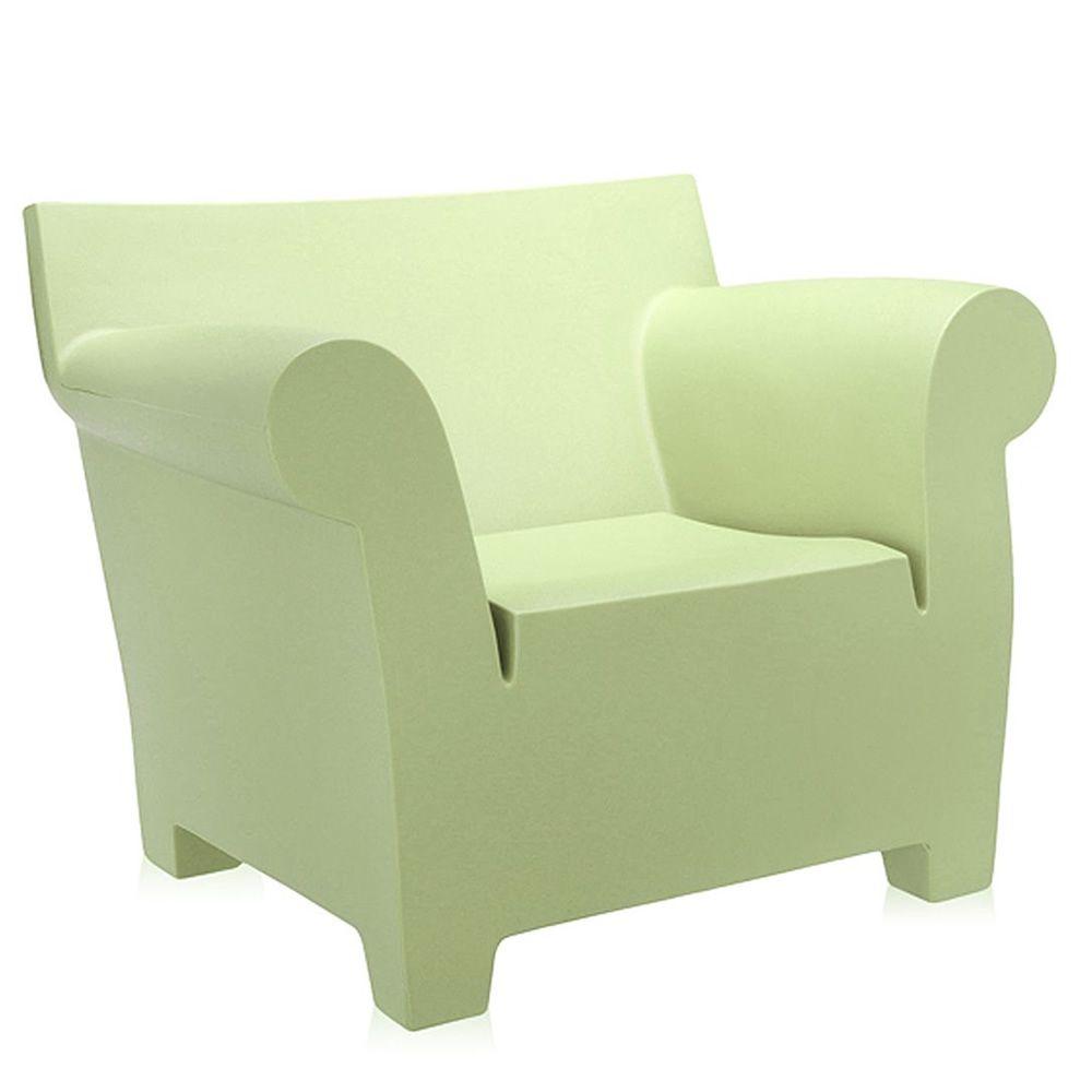 bubble club armchair fauteuil design kartell en poly thyl ne color pour jardin sediarreda. Black Bedroom Furniture Sets. Home Design Ideas