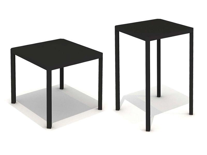 Oblique pour bars et restaurants table design carr e for Table hauteur 110 cm