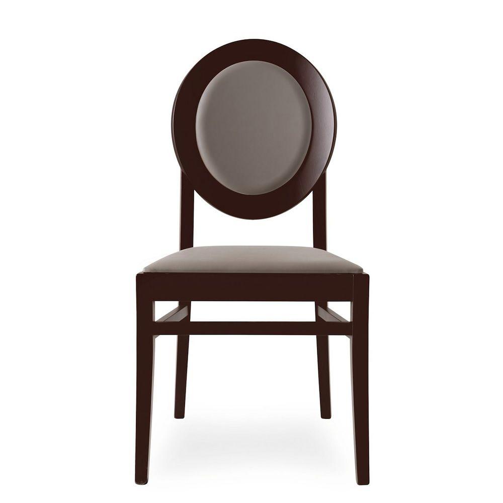 Cb1648 notre dame pour bars et restaurants chaise en bois assise et dossie - Chaise bois et simili cuir ...