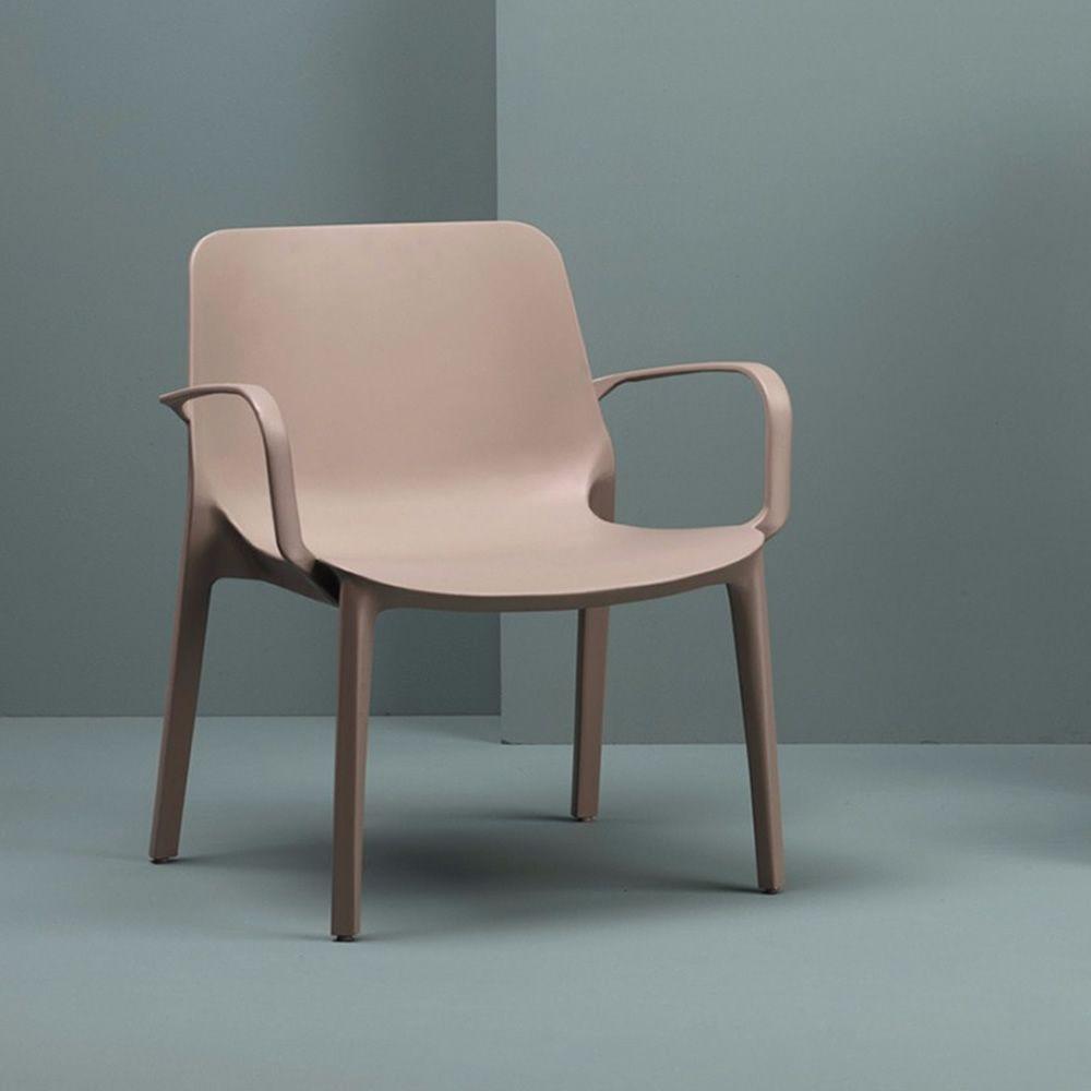ginevra lounge 2351 lounge sessel aus technopolymer in verschiedenen farben verf gbar. Black Bedroom Furniture Sets. Home Design Ideas