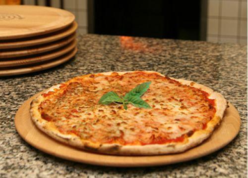 assiette a pizza en bois. Black Bedroom Furniture Sets. Home Design Ideas