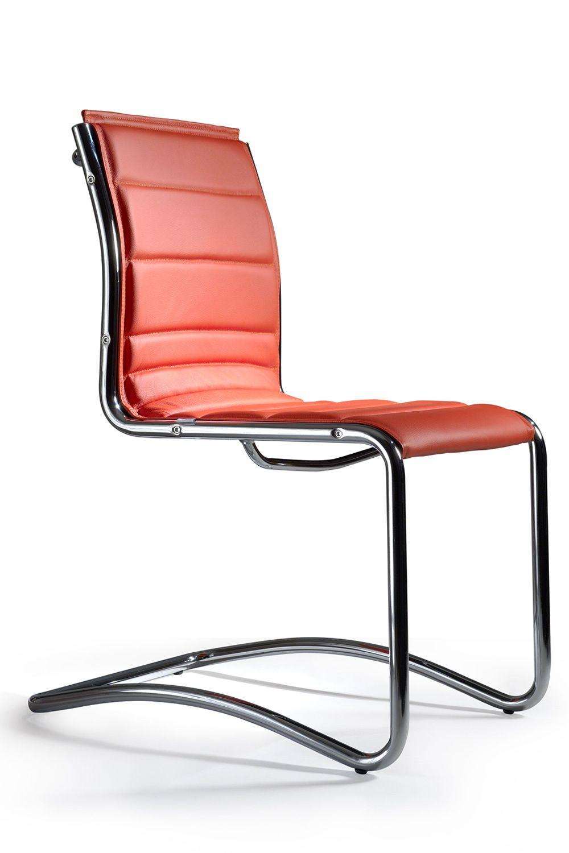 comet host besucherstuhl f r chefb ro mit oder ohne armlehnen sitz aus stoff leder oder. Black Bedroom Furniture Sets. Home Design Ideas