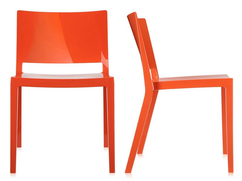 Lizz sedia kartell di design in tecnopolimero for Sgabelli kartell outlet