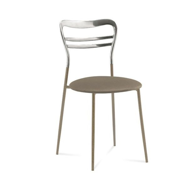 Dora silla domitalia de metal apilable sediarreda for Sillas color gris