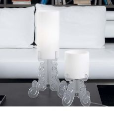 Truciolo - Table lamp in methacrylate, different colours and sizes