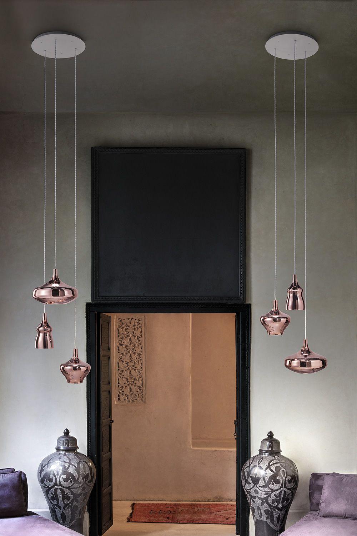 Nostalgia lampada a sospensione di design in vetro - Applique di design ...