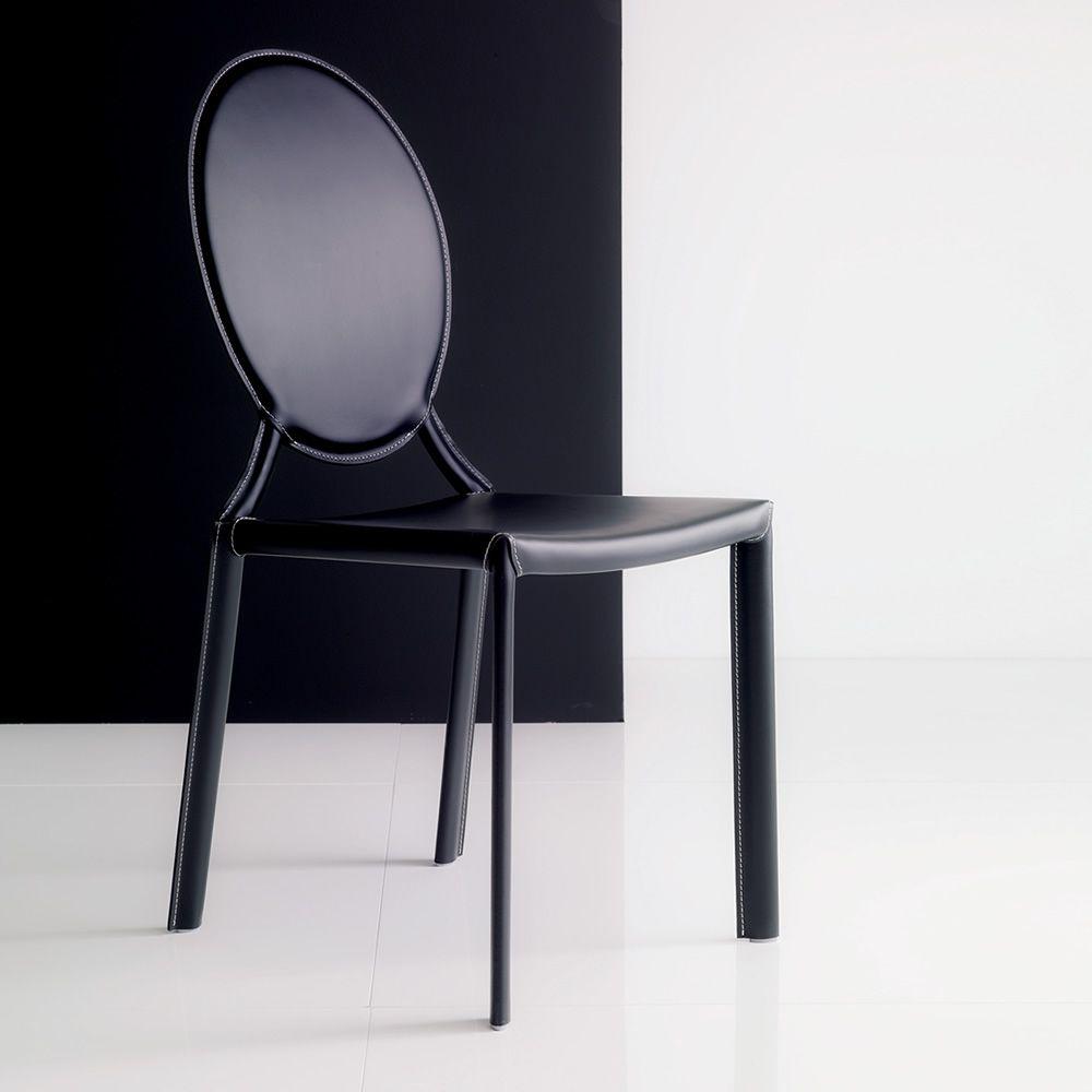 Sedia Classica Bianca Giudecca Midj : Tahira off sedia rivestita bontempi casa in metallo con