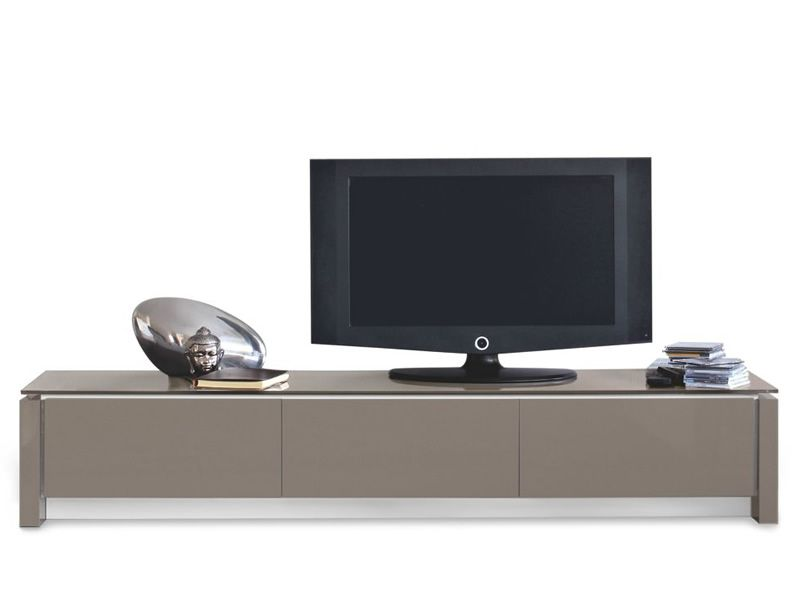 Cs6029 3r mag mobile porta tv laccato tortora - Calligaris porta tv ...