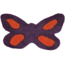 Butterfly - Tapete en forma de flor, varios colores disponibles