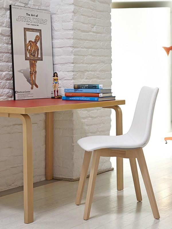 sc2806 zebra pop chaise moderne en bois avec assise rembourr diff rentes couleurs sediarreda. Black Bedroom Furniture Sets. Home Design Ideas