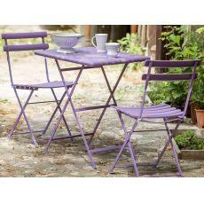 Arc En Ciel 334 - Klappbarer Tisch EMU aus Metall, in verschiedenen Maßen und Farben erhältlich