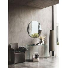 CB5074 Lune - Specchio moderno Connubia - Calligaris, rotondo