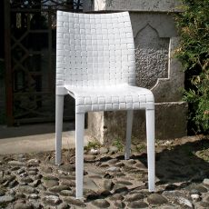 Ami Ami - Kartell design chair, in polycarbonate, stackable, also for garden