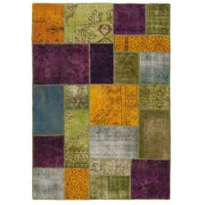 Antalya Colours - Tapis moderne coloré en pure laine vierge
