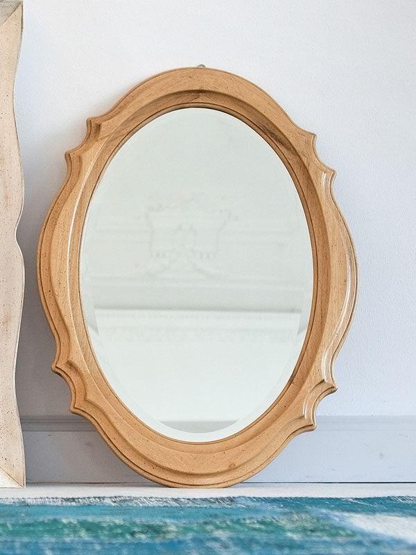 Carina 1508 spiegel tonin casa mit klassischem ramen aus holz in verschiedene ausf hrungen - Spiegel aus holz ...