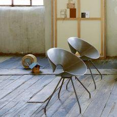 Diva - Sedia design di Colico in acciaio, diverse sedute e diversi colori disponibili