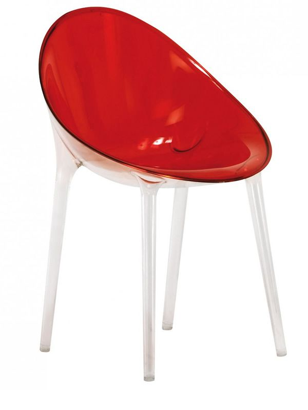 Mr. Impossible: Chaise Kartell de design, en polycarbonate ...