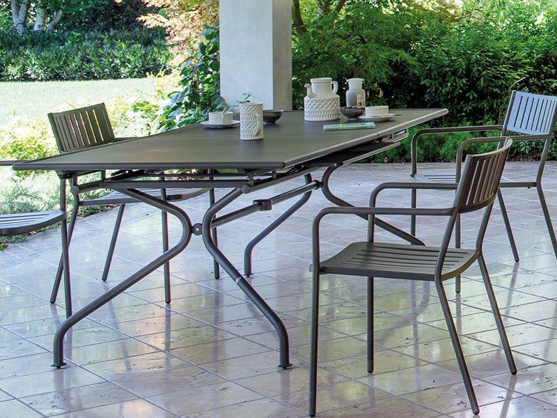 Piano table pour jardin avec fauteuils bridge - Table jardin emu rennes ...