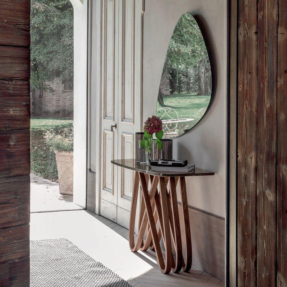 Arpa 6470 consolle tonin casa in legno con piano in for Consolle legno