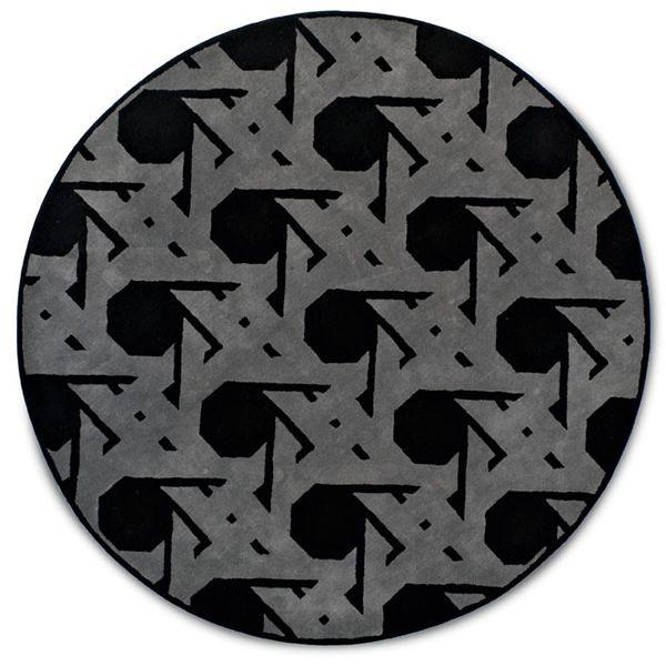 7102 lienz tapis rond calligaris en laine diam tre 220 cm sediarreda. Black Bedroom Furniture Sets. Home Design Ideas
