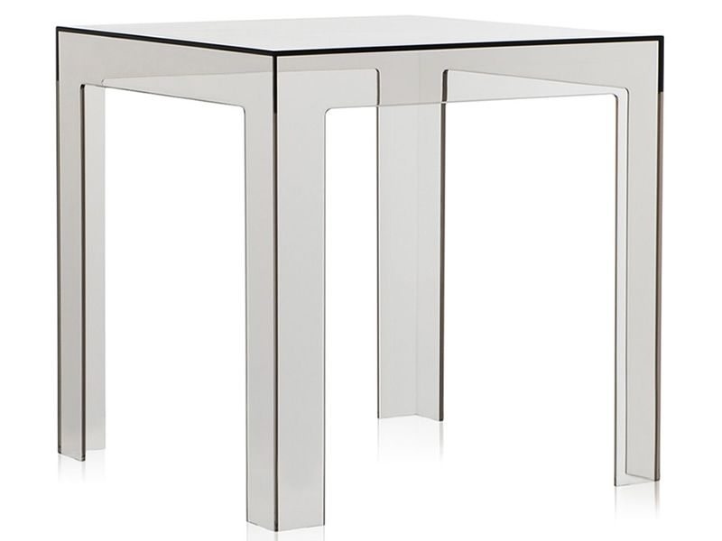 Jolly table basse de design kartell 40x40 cm en for Table exterieur 40x40