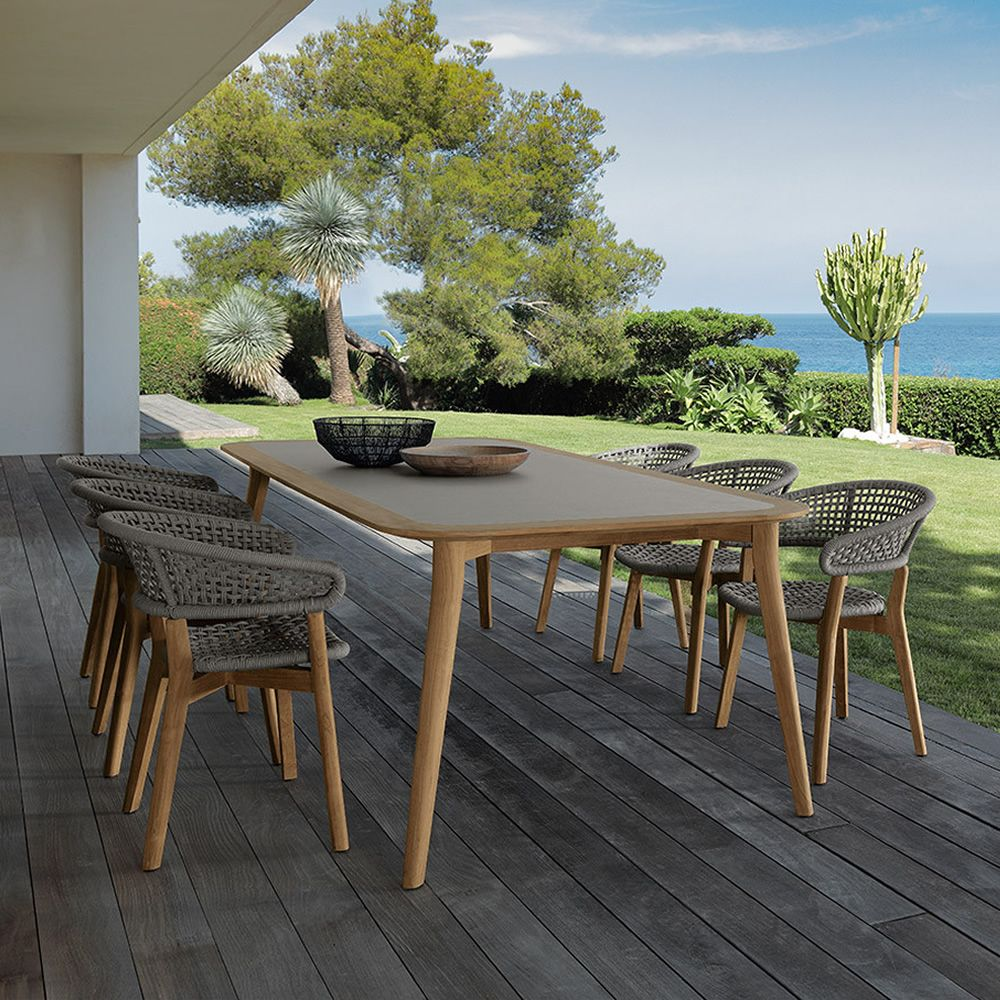 moon table en bois pour jardin plateau en bois disponible en diff rentes dimensions sediarreda. Black Bedroom Furniture Sets. Home Design Ideas