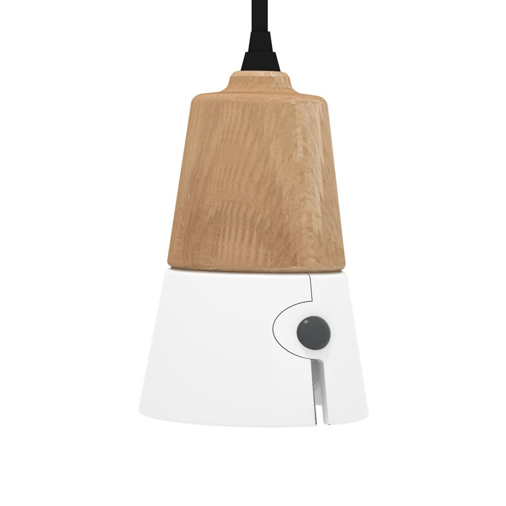 in pendant odense cone frosted ash large glass