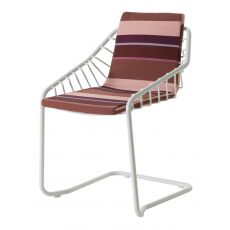 Cantilever 033 - Emu armchair made of metal for garden, stackable