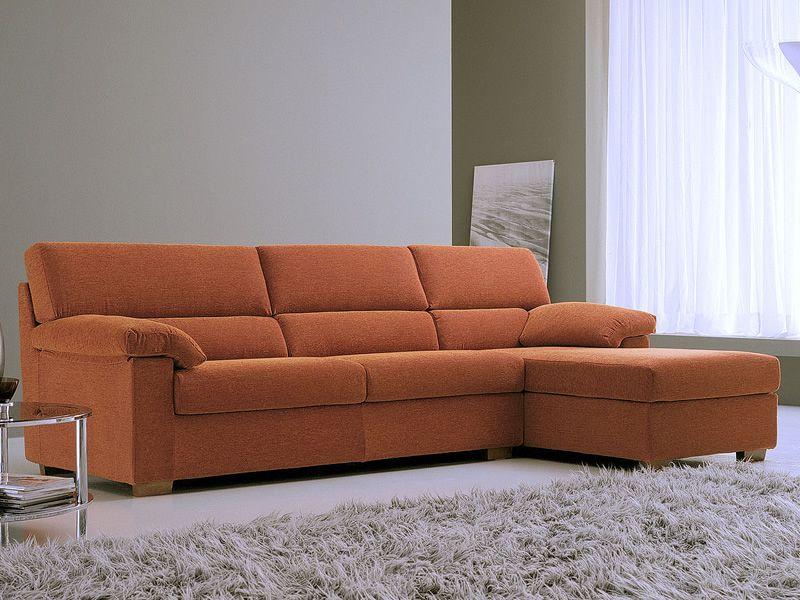 Vertigo a divano classico a 1 2 o 3 posti con chaise - Divano con chaise longue ...