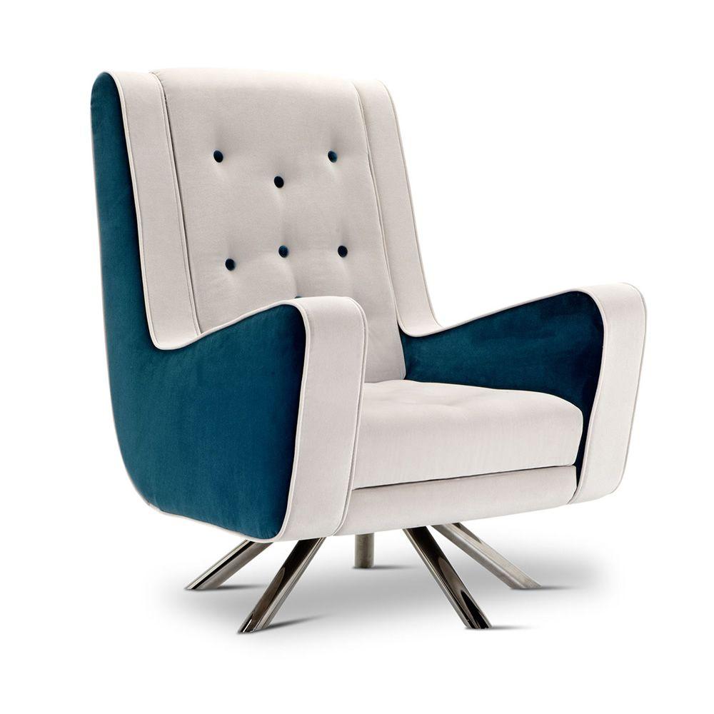 gulp designer sessel adrenalina mit gestell aus metall mit verschiedenen bez gen verf gbar. Black Bedroom Furniture Sets. Home Design Ideas