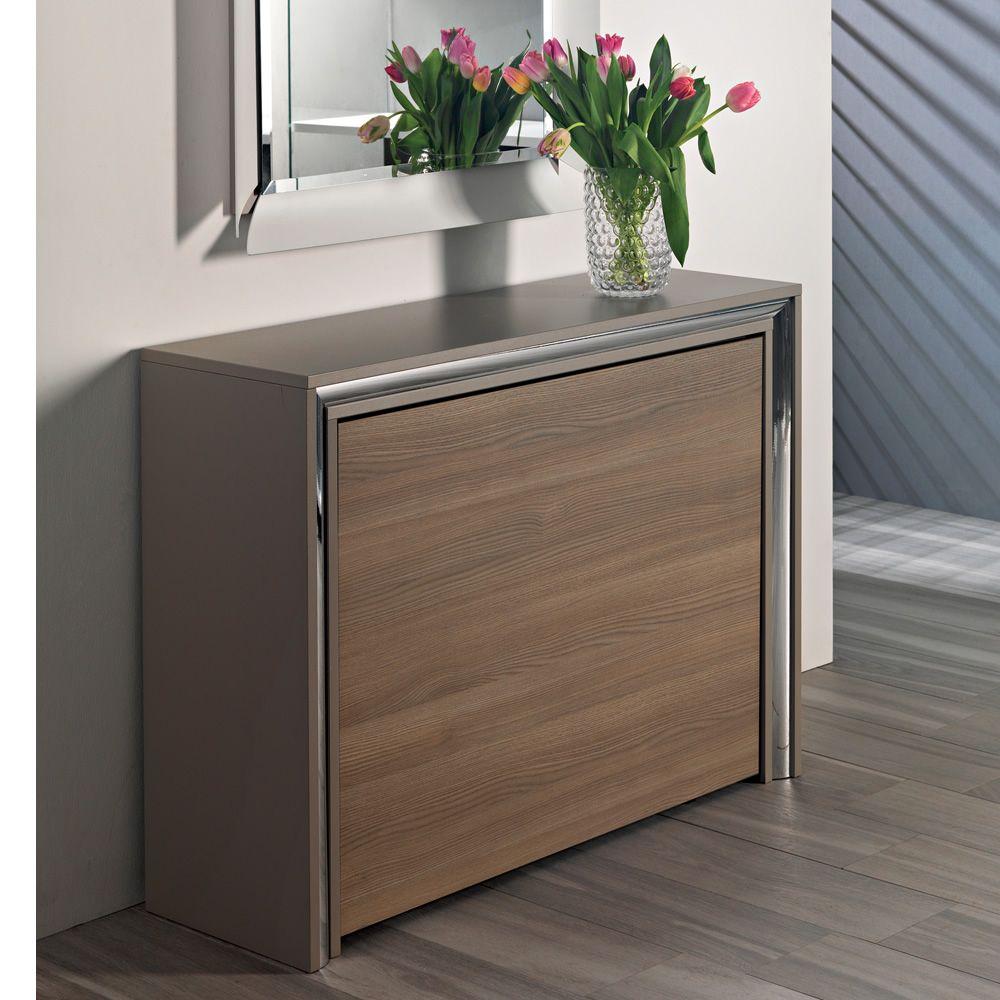 archimede c konsole mit klappbarem tisch 170 x 90 cm. Black Bedroom Furniture Sets. Home Design Ideas