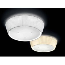 FA2960PS - Lampe de plafond en métal et tissu, en différentes couleurs et dimensions