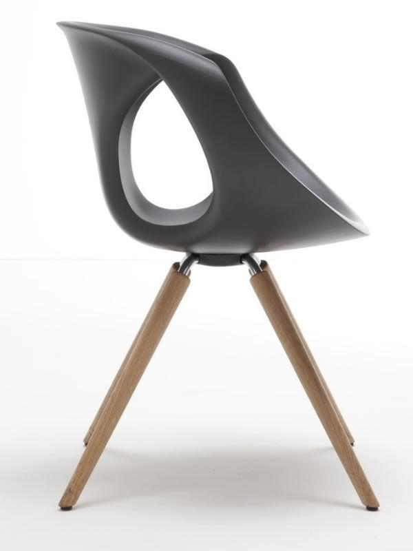 up chair w designer stuhl tonon aus holz und polyurethan. Black Bedroom Furniture Sets. Home Design Ideas