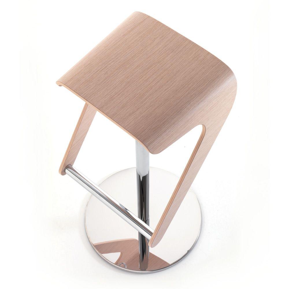 Woody 495 - Sgabello Pedrali in acciaio e legno, diversi ...