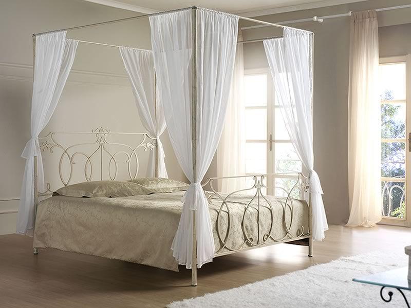 concerto b klassischer himmelbett aus eisen verschiedene. Black Bedroom Furniture Sets. Home Design Ideas