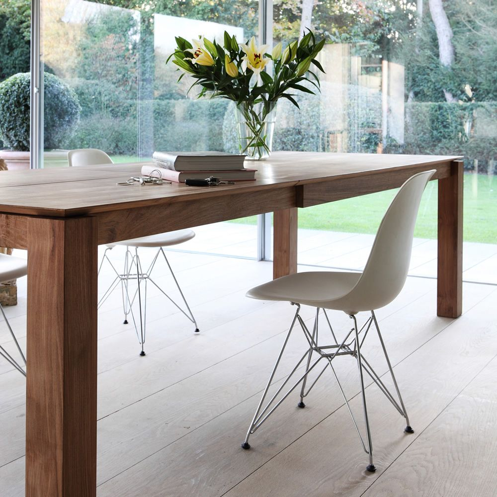slice-a: ethnicraft wooden table, different finishes available