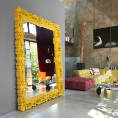 Mirror of Love - Slide polyethylene mirror, different colours and sizes available, also for outdoor